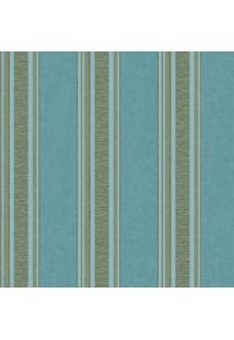 Papel De Parede Bela Vista Ll (53X1000) Azul E Dourado