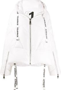 Khrisjoy Oversized Padded Jacket - Branco