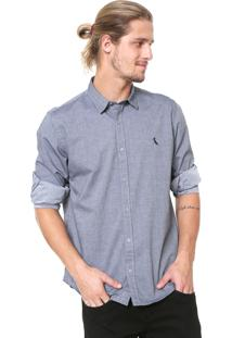 Camisa Reserva Reta Azul