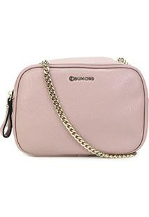 Bolsa Dumond Soft Relax Pequena Feminina - Feminino-Rosê