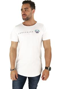 Camiseta Wolke Oversized C/ Recorte Trazeiro Cross Colors