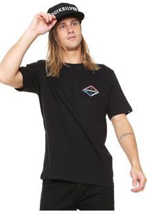 Camiseta Quiksilver Twister Preta