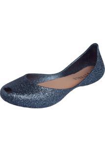 Sapatilha Fiveblu Glitter Azul Marinho