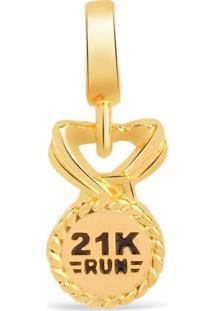 Pingente Life Medalha 21K Run