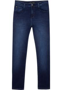 Calca Jeans Dark Blue (Jeans Escuro, 46)
