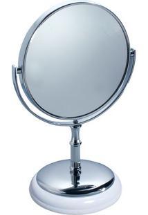 Espelho York Com 2 Faces- Espelhado & Prateado- 26X1Hudson