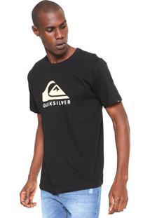 Camiseta Quiksilver Mountain Wave Preta