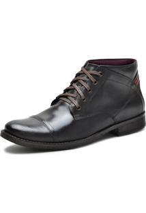 Bota Casual Sapatotop Shoes Cadarço Café