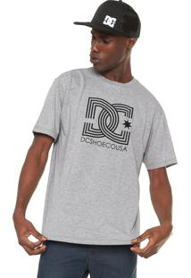 Camiseta Dc Shoes Epic Star Cinza