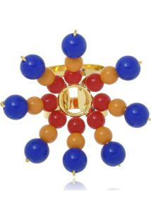 Anel Le Diamond Sol Resinas Multicolorido