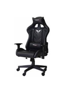 Cadeira Gamer Pro Eaglex Giratoria Reclinavel Ajuste De Altura - Preta
