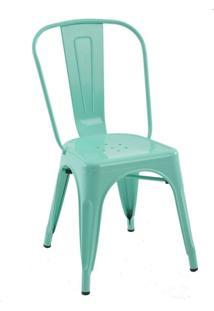 Cadeira Tolix - Cor Verde Tiffany