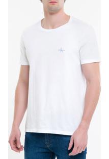 Camiseta Ckj Mc Re Issue Pequeno - Branco 2 - Pp