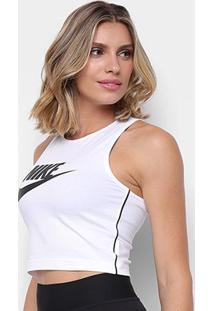 Camiseta Regata Nike Sportswear Heritage Feminina - Feminino