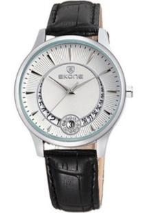 Relógio Skone Analógico Casual 9242Bg - Branco