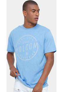 Camiseta Volcom Silk On Lock Masculina - Masculino