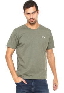 Camiseta Oakley Reta Logo Verde