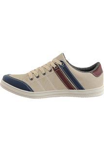 Sapatênis Cr Shoes Leve E Baixo Lançamento Bege