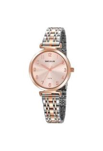 Relógio Feminino Seculus 20872Lpsvgs1 Analógico 5Atm | Seculus | U