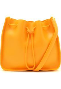 Bolsa Saco Petite Jolie Fosca Amarela