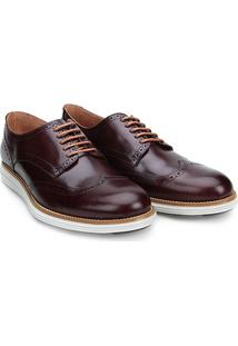 Sapato Casual Couro Reserva Theo - Masculino-Marrom Escuro