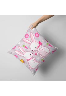 Capa De Almofada Happy Easter Love 45X45Cm