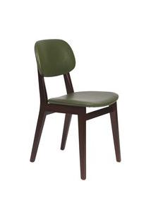 Cadeira London Tramontina 14060438 Tabaco Estofado Verde