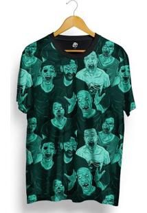 Camiseta Bsc Zombie Total Full Print - Masculino-Verde