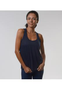 Regata Básica Adulto Azul Marinho Fit & Co. - G