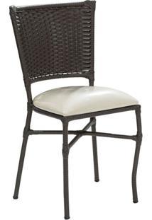 Conjunto Com 2 Cadeiras Emily Marrom Escuro