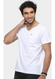 Camiseta Sergio K Normal Is Boring Masculina - Masculino-Branco