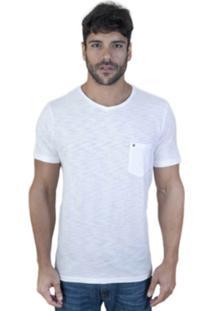 Camiseta Hell Yes Bolso Caveira Branco