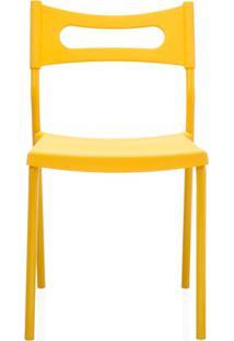 Cadeira Em Polipropileno Easy 41X49Cm Amarela