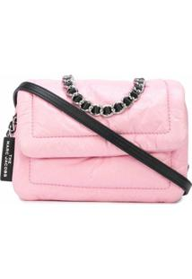 Marc Jacobs Bolsa Tiracolo Pillow Mini - Rosa