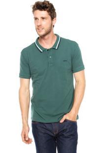 Camisa Polo Sommer Bordado Verde