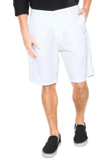 Bermuda Sarja Osklen Chino Branca