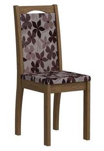 Cadeira Cimol Lívia Madeirado (2 Unidades) Savana/Bordô