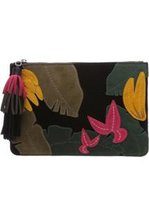 Clutch Tropical Black | Schutz