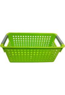 Cesta Organizadora Pequena Basic Kitchen Verde