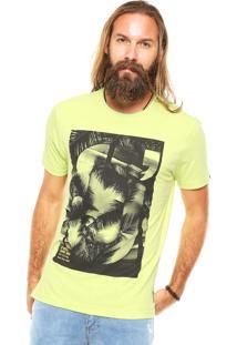 Camiseta O'Neill Catch The Fram Verde