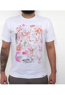 Welcome To Tokyo - Camiseta Clássica Masculina