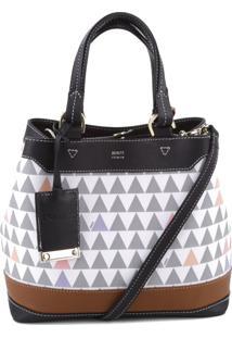 Bucket Bag Emma Triangle Pearl | Schutz