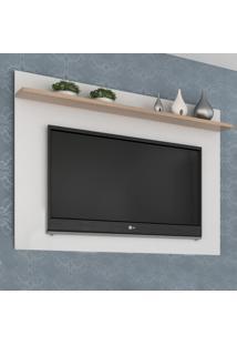 Painel Para Tv Até 40 Polegadas Benevello 2034 Branco - Quiditá Móveis