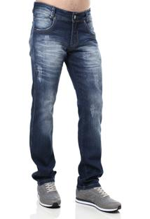 Calça Jeans Masculina Bivik Azul - Masculino