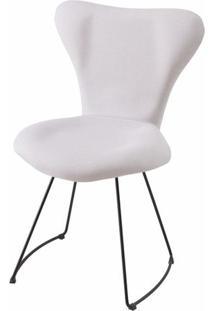 Cadeira Jacobsen Series 7 Gelo Com Base Curve Preta - 49612 - Sun House