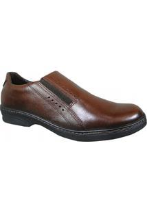 Sapato Pegada - Masculino-Marrom