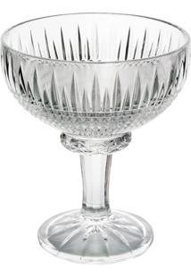 Conjunto De 6 Taças De Cristal Wolff Para Sobremesa Queen 260Ml