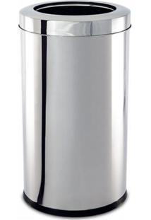 Lixeira Aço Inox Decorline 18,5X20Cm Brinox 3033/202