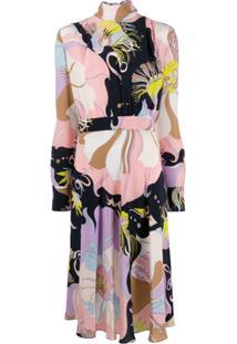 Emilio Pucci Mirabilis Print Dress - Rosa