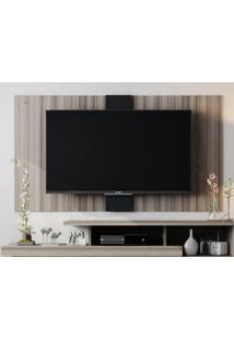 """Painel Para Tv Ate 50"""" 1.6 Ultra Cinza/Preto - Caemmun"""